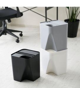シンプルモダンで積み重ねができる!愛用中のゴミ箱「QUALY BLOCK」。