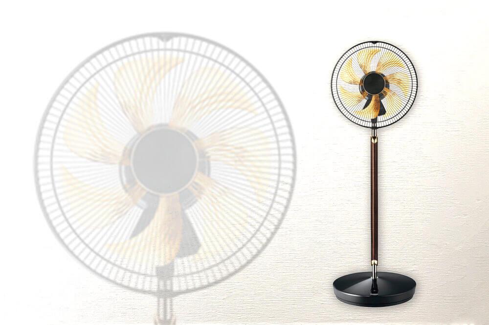 パナソニックのプレミアム扇風機「RINTO(リント) F-CWP3000」がすごい!素材も価格もプレミアム。