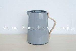 【レビュー】愛着がわくstelton(ステルトン)のステンレス魔法瓶ポット「Emma Tea vacuum jug 1L」バキュームジャグ