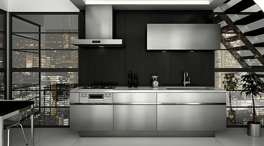 やっぱり憧れはステンレスのキッチン! サンワカンパニーGRAD45(グラッド45)に決定しました