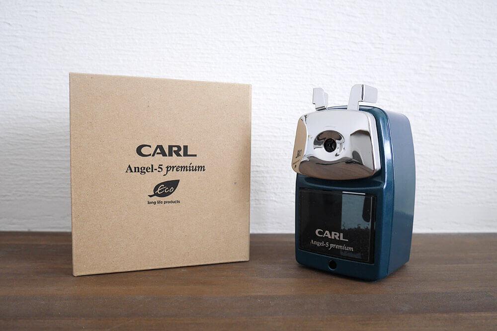 鉛筆削りは「カール事務器 エンゼル5 プレミアム」に決定!レトロで長く使える!【レビュー】