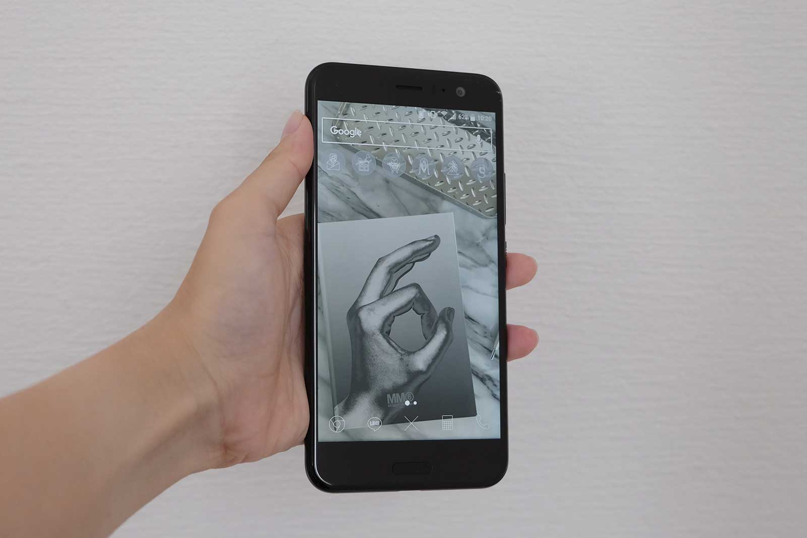 HTC U11 ディスプレイ