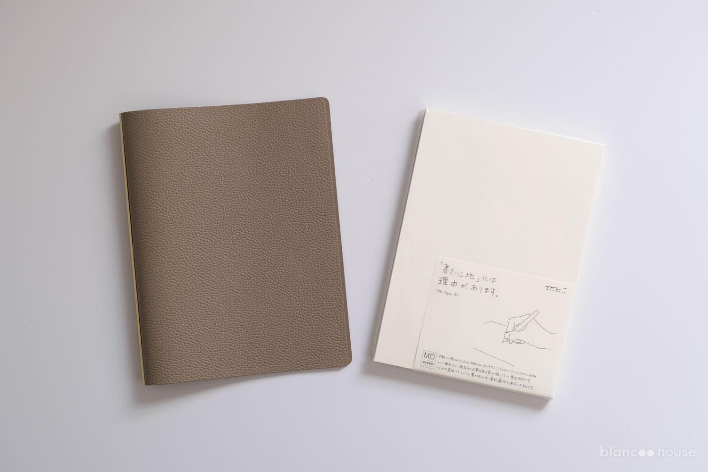 PLOTTER(プロッター)のロフト限定手帳カバーとMD用紙A5
