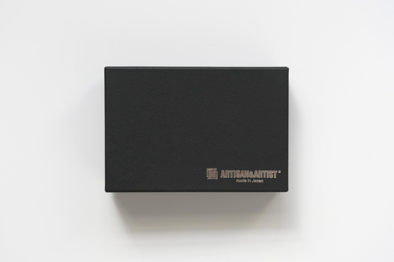 アルティザンアンドアーティスト シルク平唐ぼかし紐ストラップ グラデーションの箱