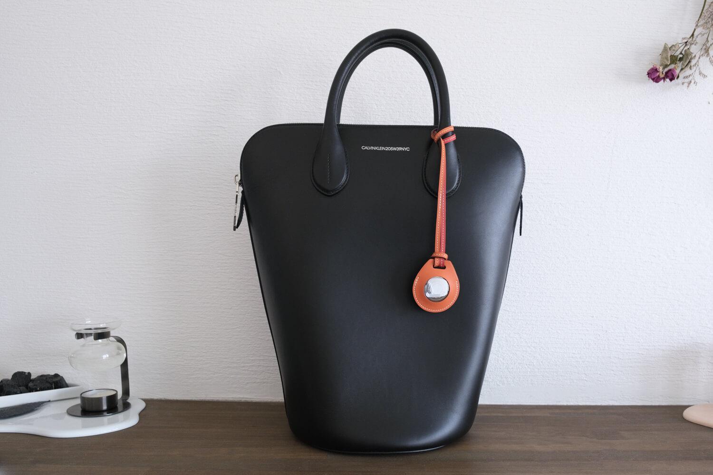 AirTag Hermesのバッグチャーム(オレンジ)が届きました!アクセサリーとしてもかわいい【開封レビュー】