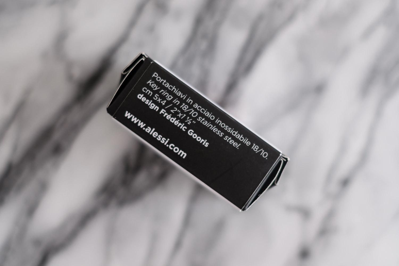 アレッシィ ネズミ キーリング PIP 素材 ステンレススチール