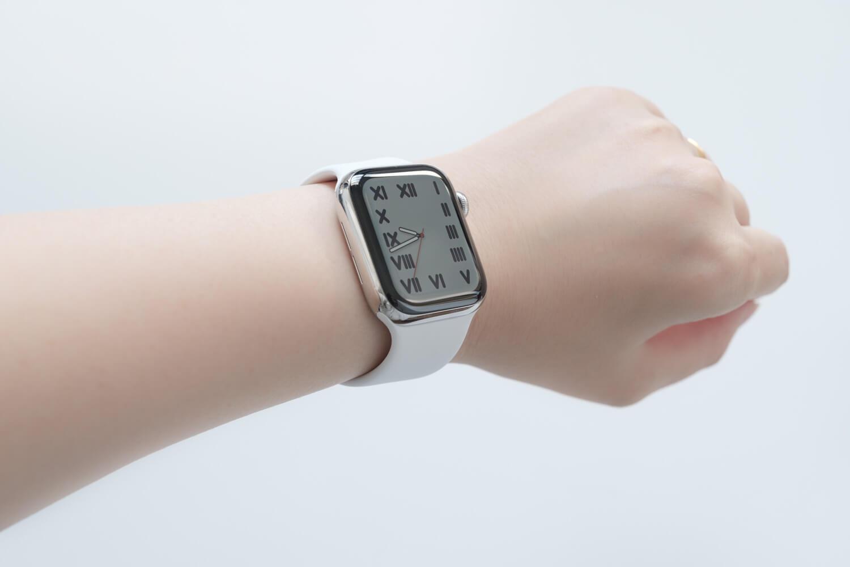 Apple Watch6のタイポグラフィー文字盤