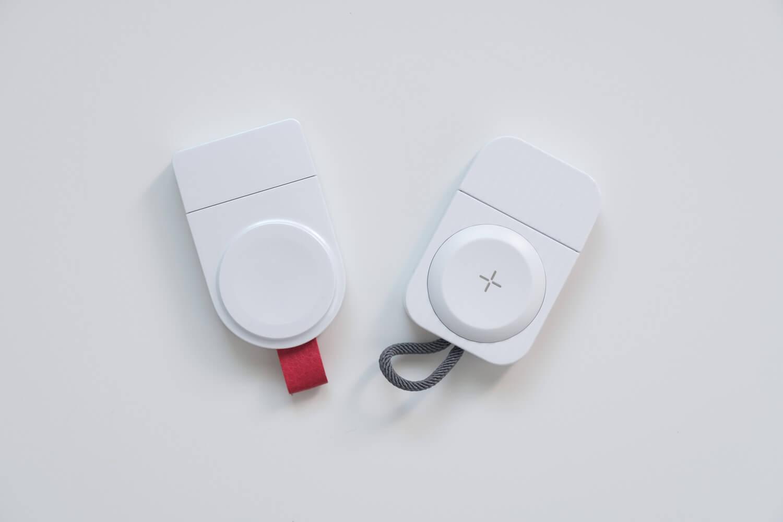 Apple Watch用のコンパクトな充電器と類似品の比較
