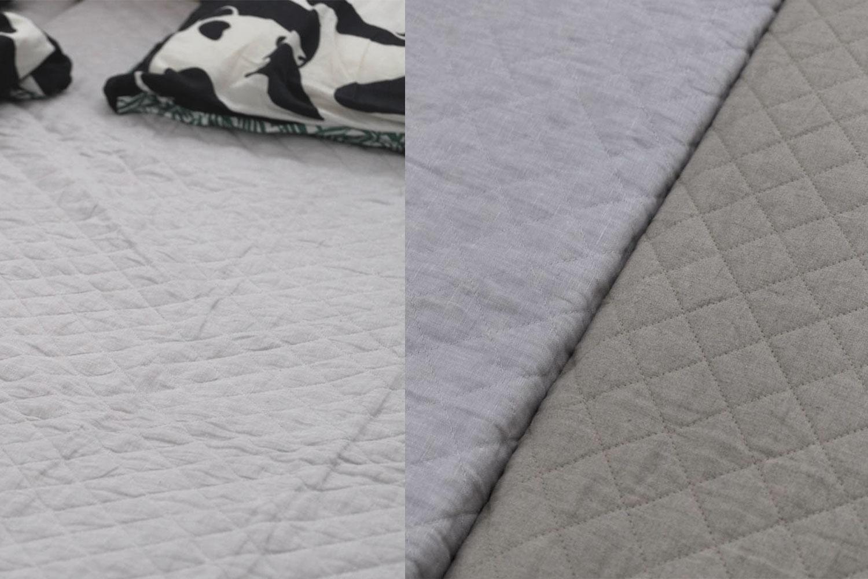 表裏中綿に麻を使っていて贅沢!西川リビング 麻敷きパッドが涼しくてリピート購入しました【レビュー】