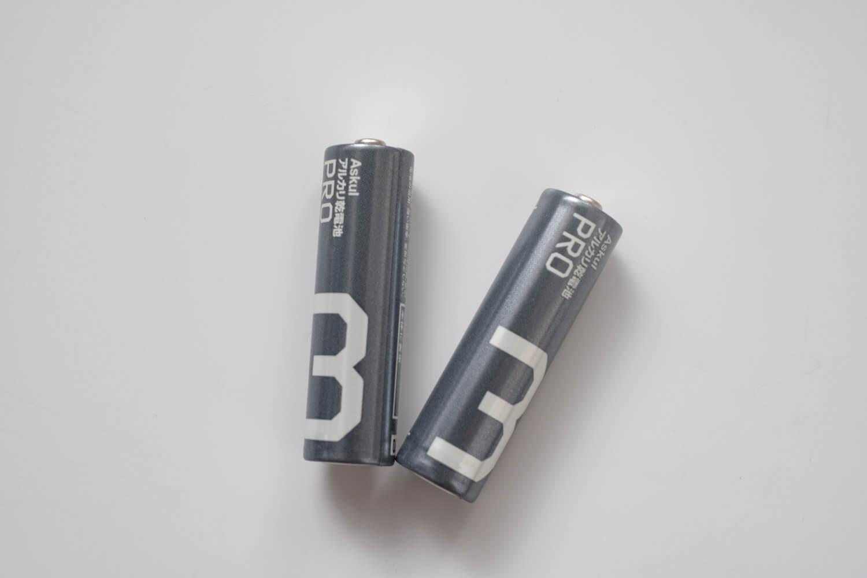 アスクル ロハコ アルカリ乾電池 Pro 単3本体
