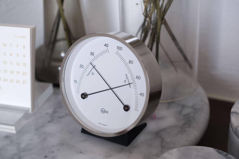 BARIGO(バリゴ)温湿度計の全体