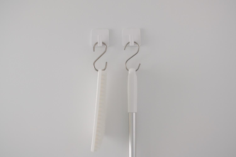 東和産業 磁着SQ お風呂用マグネットフックとS字フック