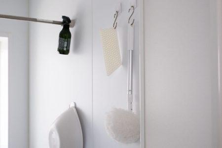 浴室をすべてラバーマグネットフック収納にしました