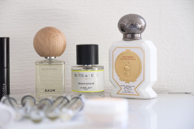 BAUM(バウム)オーデコロンとお気に入りの香水
