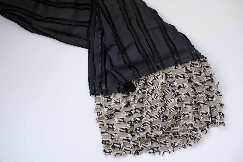 UNITED TOKYO ジャガードパンツ 裾部分