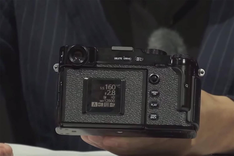 富士フイルム X-Pro3 背面