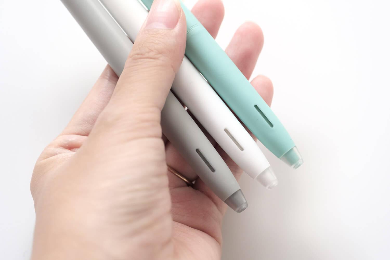 ゼブラ ブレン(bLen)限定カラー ブルーグリーン ラバー部分も本体と同色