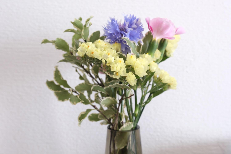 お花の定期便bloomee(ブルーミー)の体験プランのお花