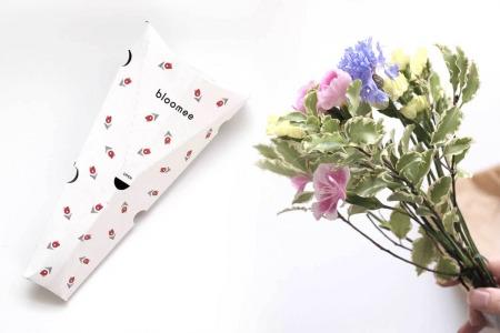【2021年5月クーポン掲載中】bloomee(ブルーミー)レビュー。近くのお花屋さんからポストにお花が届く定期便で品質保証制度もあります