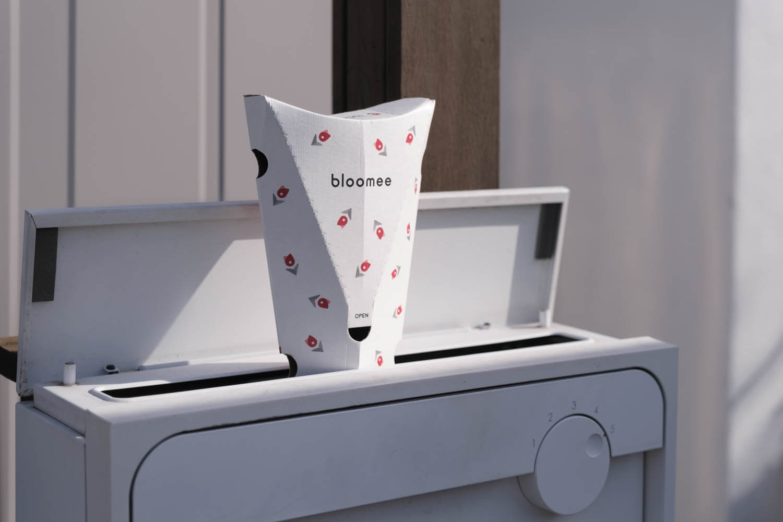 bloomee(ブルーミー)の箱は以前と同じ形状