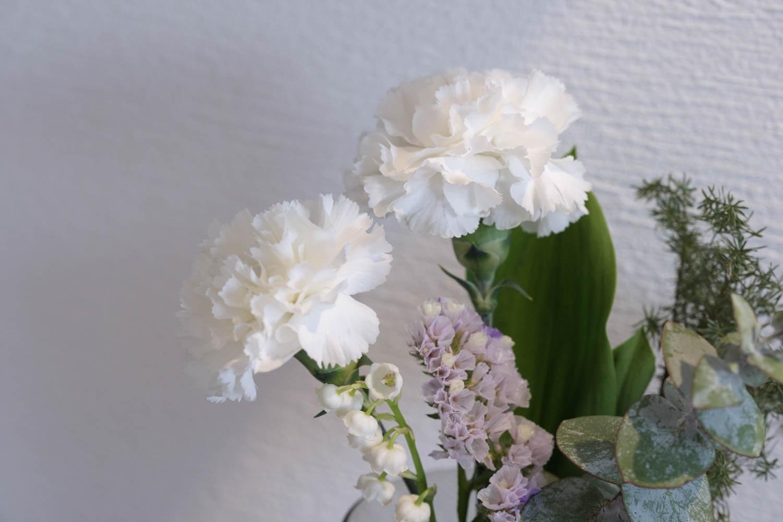 初回のブルーミーライフのお花