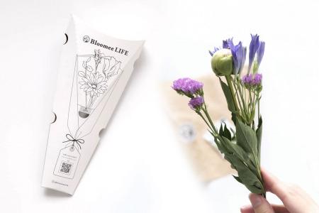 【2021年2月クーポンあり】Bloomee LIFEレビュー。近くのお花屋さんからポストにお花が届く定期便で品質保証制度もあるサブスク