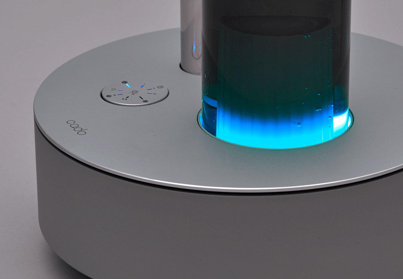 cado(カドー)STEM 630iは光で湿度をお知らせ