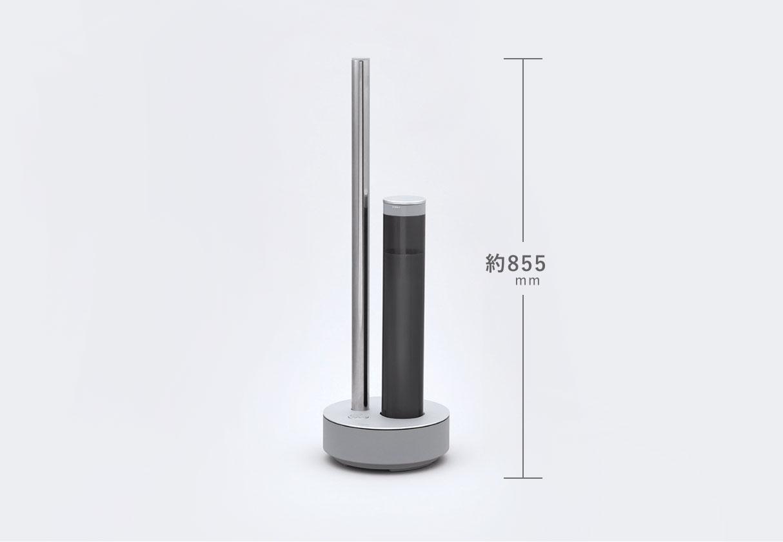 cado(カドー)STEM 630iは高さが85cmで効率がいい