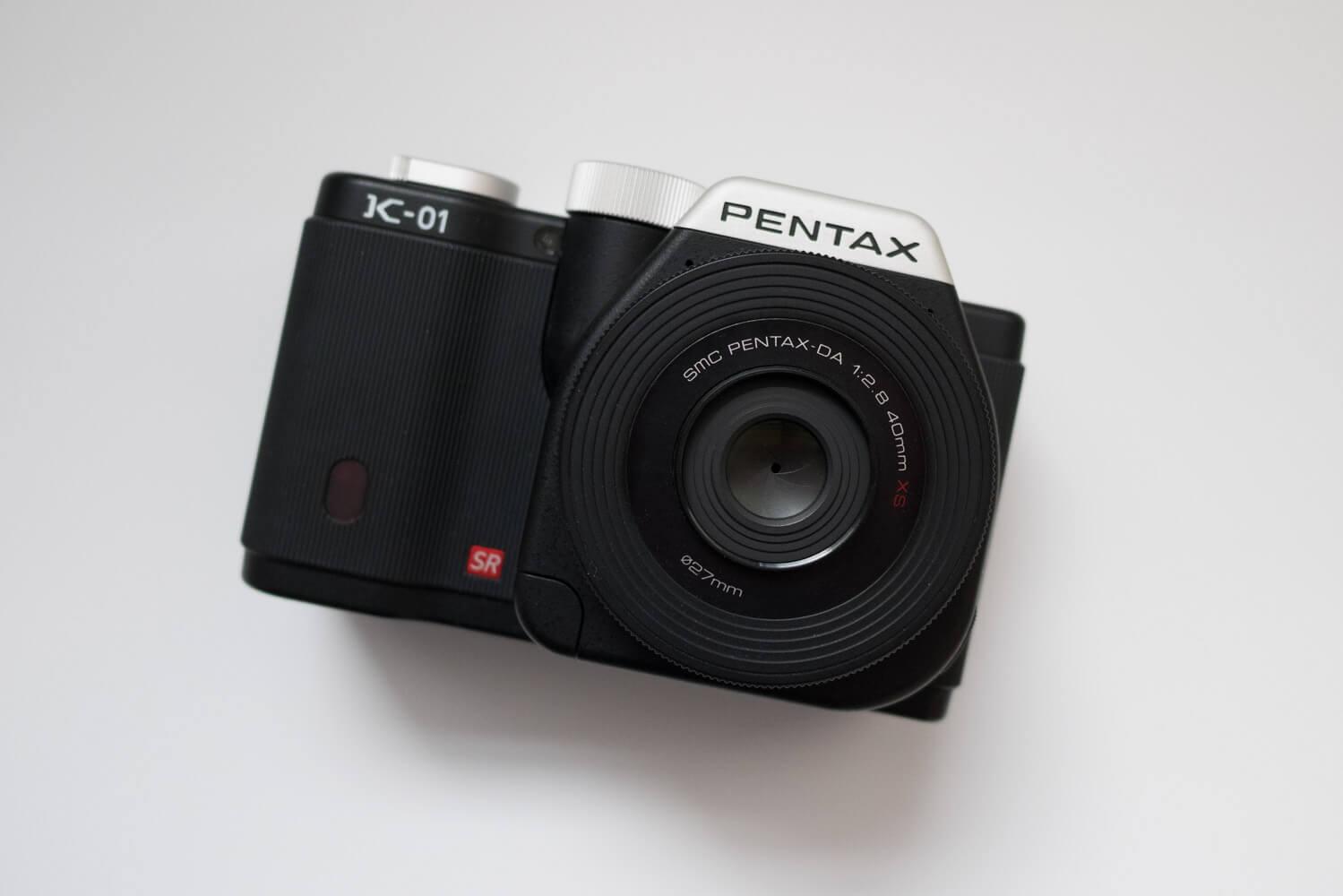 PENTAX K-01 マークニューソン好き