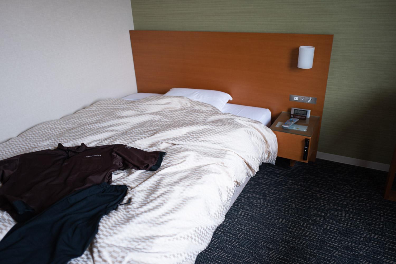 カンデオホテルズ福山ベッド