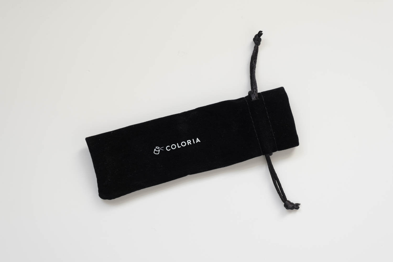 香水の定期便 COLORIA(カラリア)から届いたアトマイザーの袋
