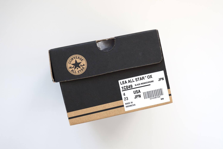 コンバース オールスター OX レザーは23cmを購入しました