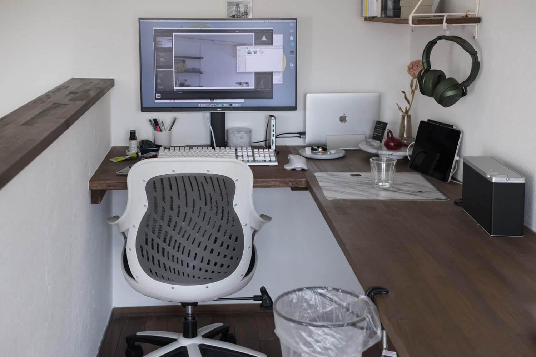 トラッシュリングクランパー 最近の仕事部屋