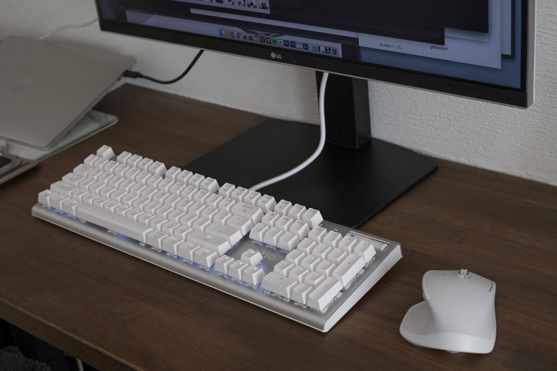 グリーンハウス 液晶ディスプレイアーム GH-AMCM01  スッキリしました