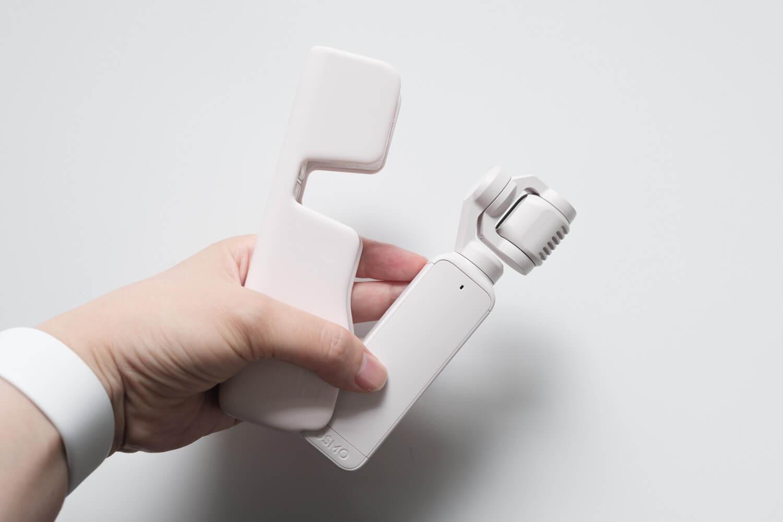 DJI Pocket 2 サンセットホワイトとケースの色の違い