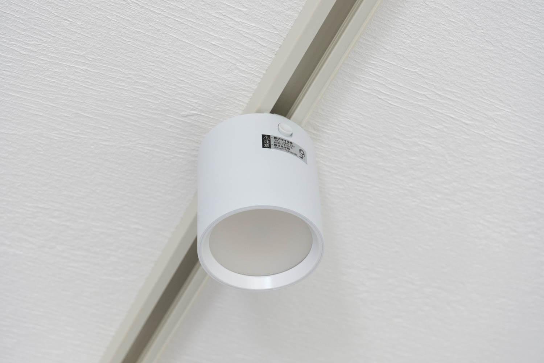 GRID ダクトレール ダウンライト ART WORK STUDIO  LED 取り付け後2