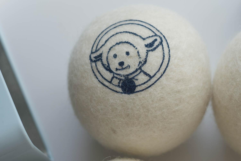 ネリーズ(Nellie's)ドライヤーボール ボールに羊プリント