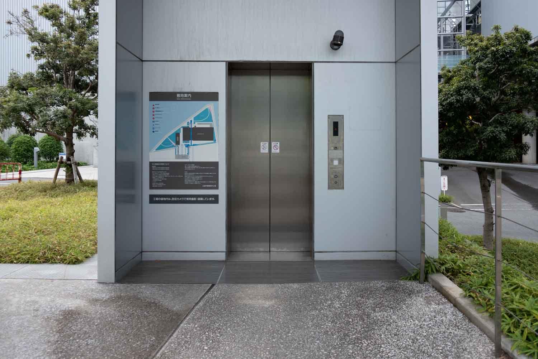 エコリアム エレベーター