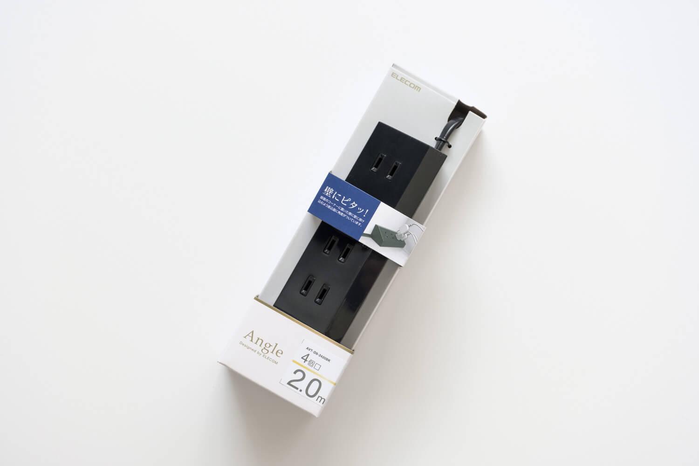 エレコム(ELECOM)デザインコンセントタップ Angle パッケージ
