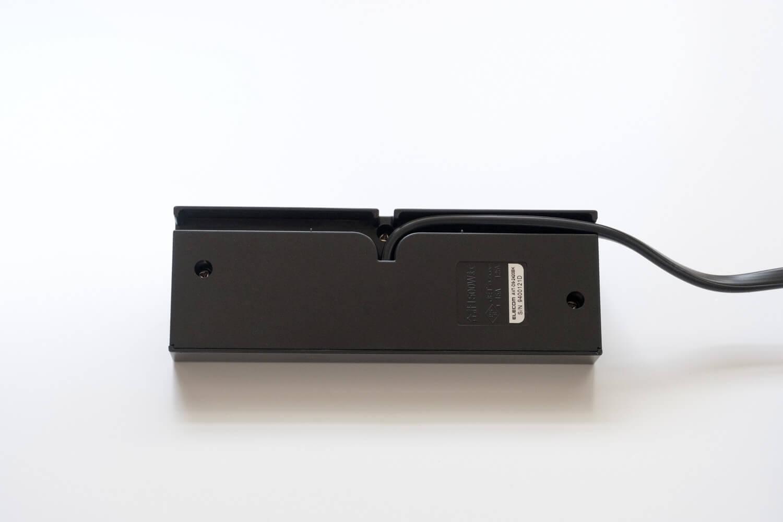 エレコム(ELECOM)デザインコンセントタップ Angle  コードの配置は左右どちらでも