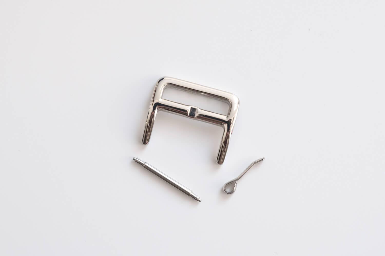 EPONAS シュランケンカーフ Apple Watchバンド(ベルジアンブラック)用に購入した尾錠