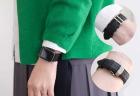 EPONAS シュランケンカーフ Apple Watchバンド(ベルジアンブラック)の付け替えた尾錠2