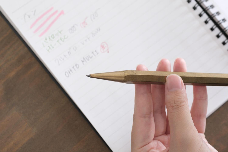 ystudio 2.0mm クラシック スケッチングペンシルは2mmの芯が使える