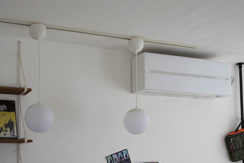 三菱 霧ヶ峰 FL Styleを部屋に設置した状態