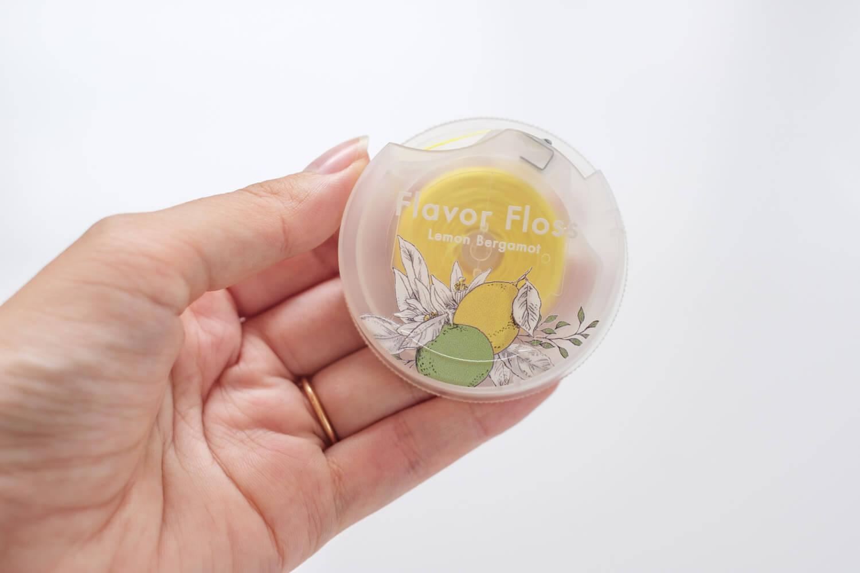 ロハコ フレーバーフロス レモンベルガモット パッケージかわいい