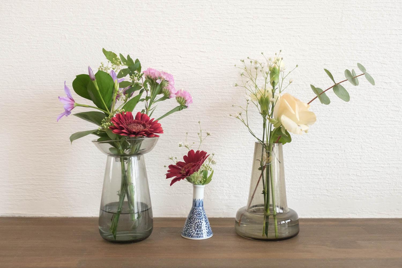 楽天の買い回りにピッタリな365フラワーのフラワーセットのお花を飾ってみました