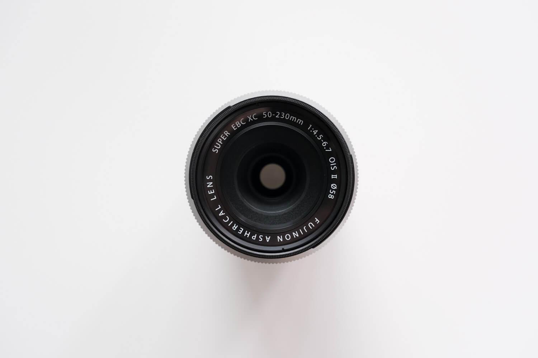 X-S10と一緒に使っているレンズ(XC50-230mmF4.5-6.7OISII)