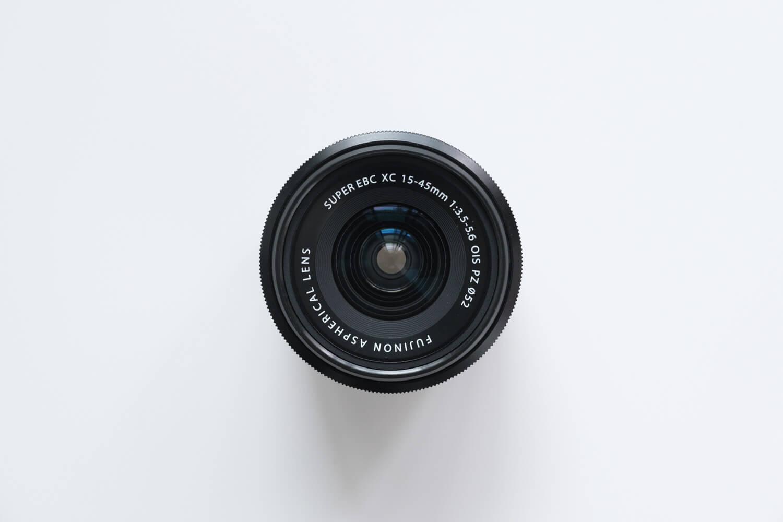 X-S10と一緒に使っているレンズ(FUJINON  XC15-45mmF3.5-5.6 OIS PZ)