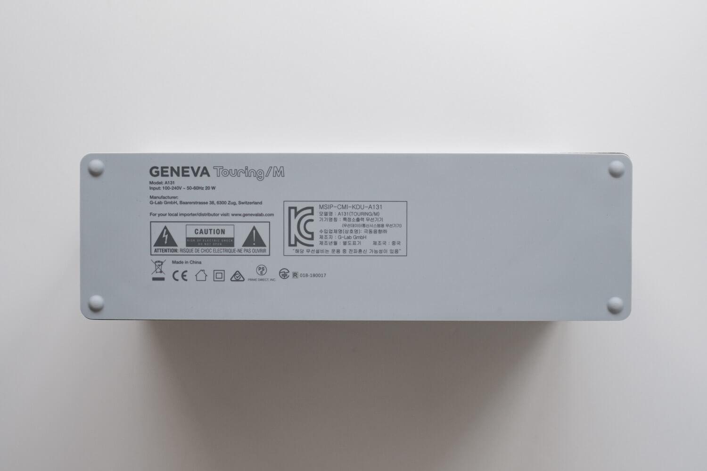 GENEVA Touring M スピーカー 裏側はシリコンのようなラバー素材
