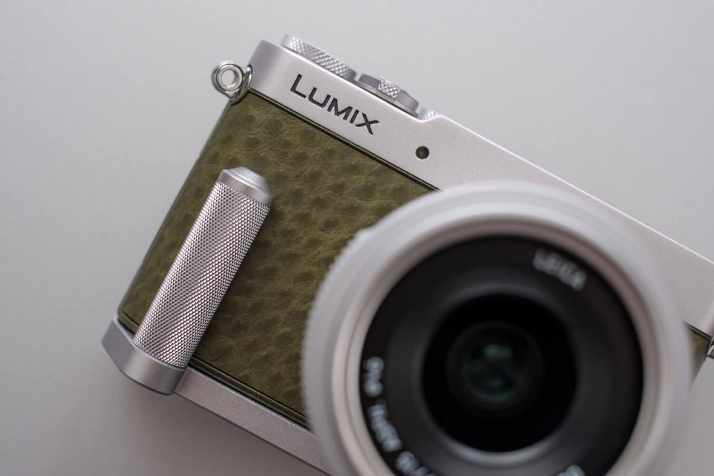LUMIX GM5 グリーン ハンドグリップ ローレット